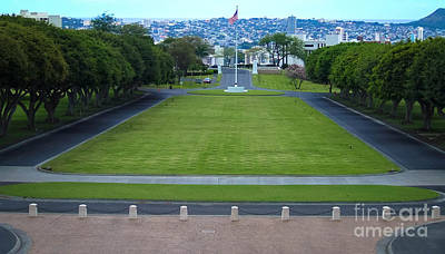 Photograph - National Memorial Cemetery Of The Pacific Hawaii by Andrea Anderegg