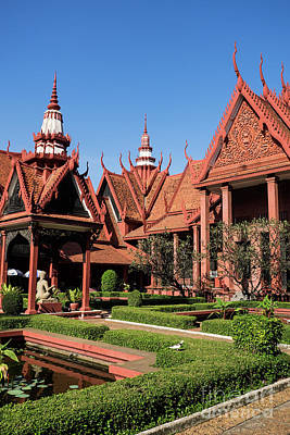 Photograph - National Museum Of Cambodia 03 by Rick Piper Photography