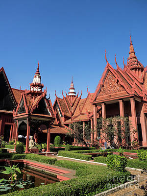 Photograph - National Museum Of Cambodia 04 by Rick Piper Photography