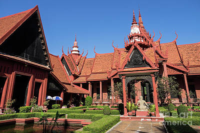 Photograph - National Museum Of Cambodia 05 by Rick Piper Photography