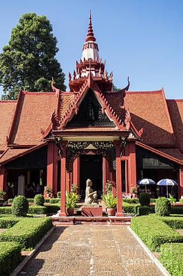 Photograph - National Museum Of Cambodia 08 by Rick Piper Photography
