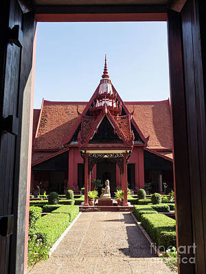 Photograph - National Museum Of Cambodia 09 by Rick Piper Photography