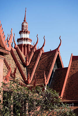 Photograph - National Museum Of Cambodia 10 by Rick Piper Photography