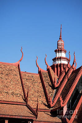 Photograph - National Museum Of Cambodia 11 by Rick Piper Photography