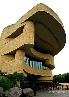 Smithsonian Museum Photograph - National Museum Of The American Indian 1 by Randall Weidner
