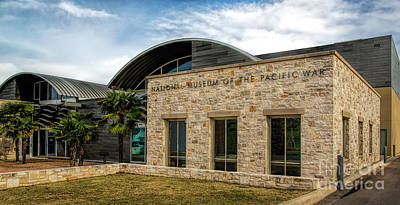 National Museum Of The Pacific War Print by Jon Burch Photography
