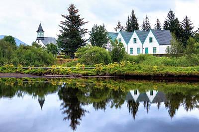 Golden Circle Photograph - National Park Thingvellir - Iceland by Joana Kruse