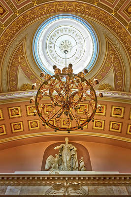 Photograph - National Statuary Hall Washington Dc by Susan Candelario