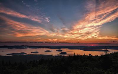 Photograph - National Sunrise by John M Bailey