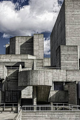 Photograph - National Theatre, London by Christopher Rees