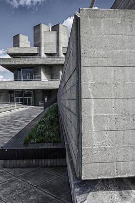 Photograph - National Theatre Path, London by Christopher Rees