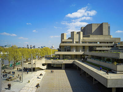 Photograph - National Theatre by Stewart Marsden