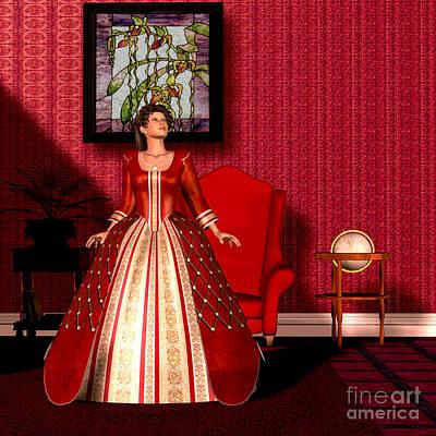 National Velvet Art Print by Corey Ford