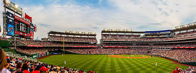 Baseball Royalty-Free and Rights-Managed Images - Nationals Park by TL  Mair