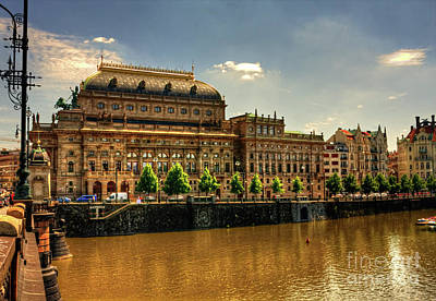 Photograph - Nationaltheater by Joerg Lingnau