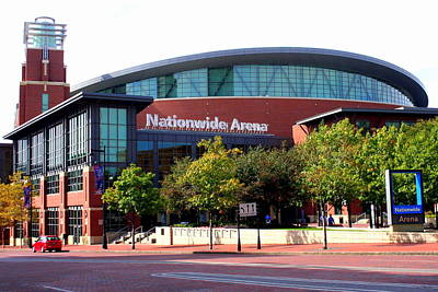 Nationwide Arena Art Print