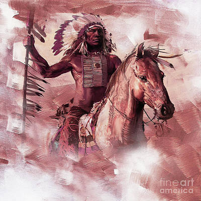 Native American 00932 Original by Gull G