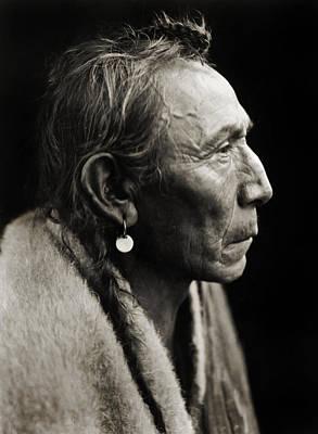 Native American Aki-tanni Two Guns Art Print by Jennifer Rondinelli Reilly - Fine Art Photography
