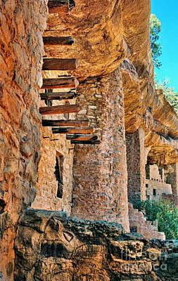 Native American Cliff Dwellings Art Print