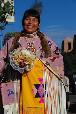 Photograph - Native American Clothes Contest 1 by Irina ArchAngelSkaya