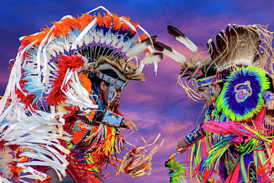 Photograph - Native American Dance - Honoring Tradtion by Mike Braun