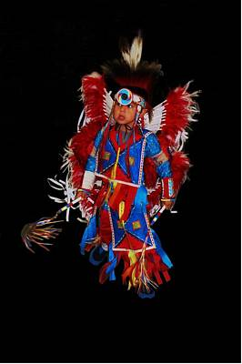 Photograph - Native American Dancer by Christopher James