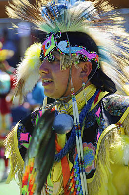 Photograph - Native American Dancer by Keith Lovejoy