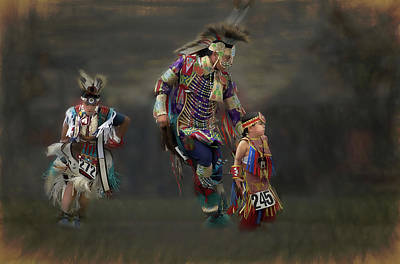 Photograph - Native American Dancers by Dyle Warren
