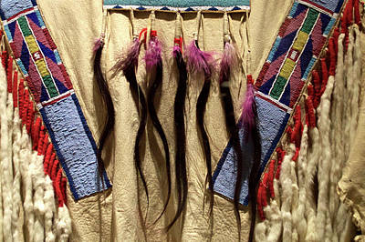 Homemade Quilts Photograph - Native American Great Plains Indian Clothing Artwork 06 by Thomas Woolworth