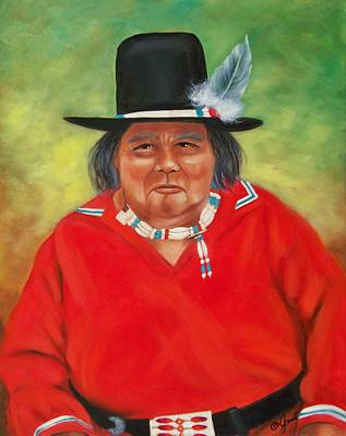 Painting - Native American by Joni McPherson