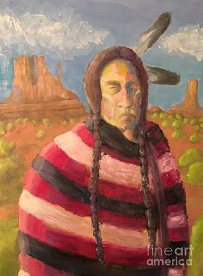 Painting - Native American by Mark Macko