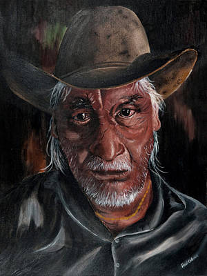 Painting - Native American by Paul Cubeta