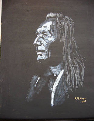 Painting - Native American by Richard Le Page