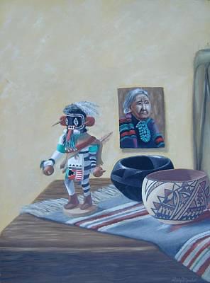 Painting - Native American Treasures nr. 1 by Philipp Merillat