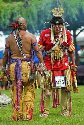 Photograph - Native Americans by David Freuthal