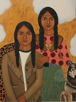 Native American's Were Never Immigrants Art Print by Stephanie Cohen