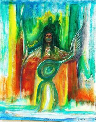 Native Awakenings Art Print