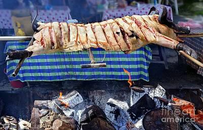 Photograph - Native Barbecue In Taiwan by Yali Shi