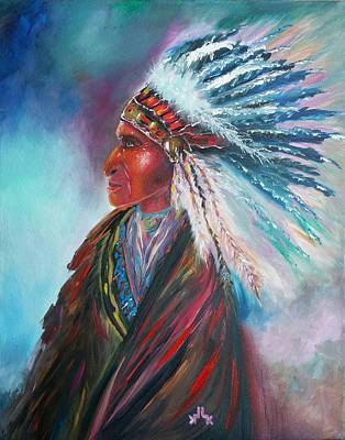Painting - Native Blessings by Lettie Atkins