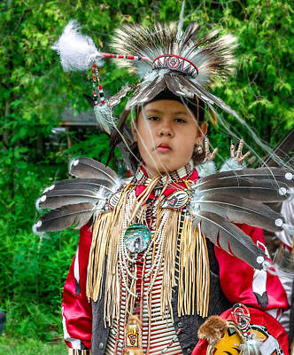 Photograph - Native Boy Dancer by Patrick Boening