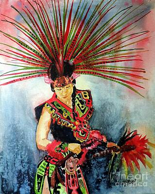Painting - Native Dancer by Tom Riggs