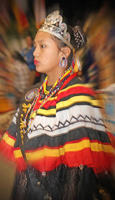 Photograph - Native Daughter by Audrey Robillard