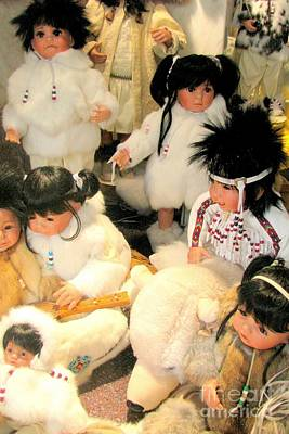 Photograph - Native Dolls by Frank Townsley