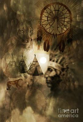 Photograph - Native Dreamscape by Maria Urso