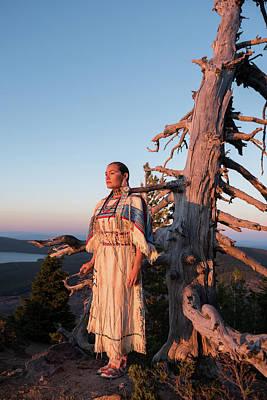 Sacagawea Photograph - Native Explorer by Christian Heeb