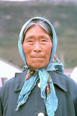 Native Face . Art Print