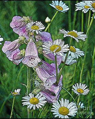 Native Flowers Art Print