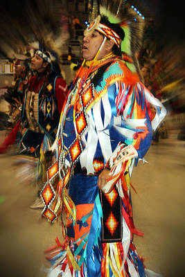 Photograph - Native Leader by Audrey Robillard