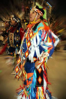 Photograph - Native Leader by Audrey Robillard