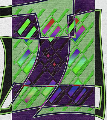 Action Lines Digital Art - Native by Linda Dunn
